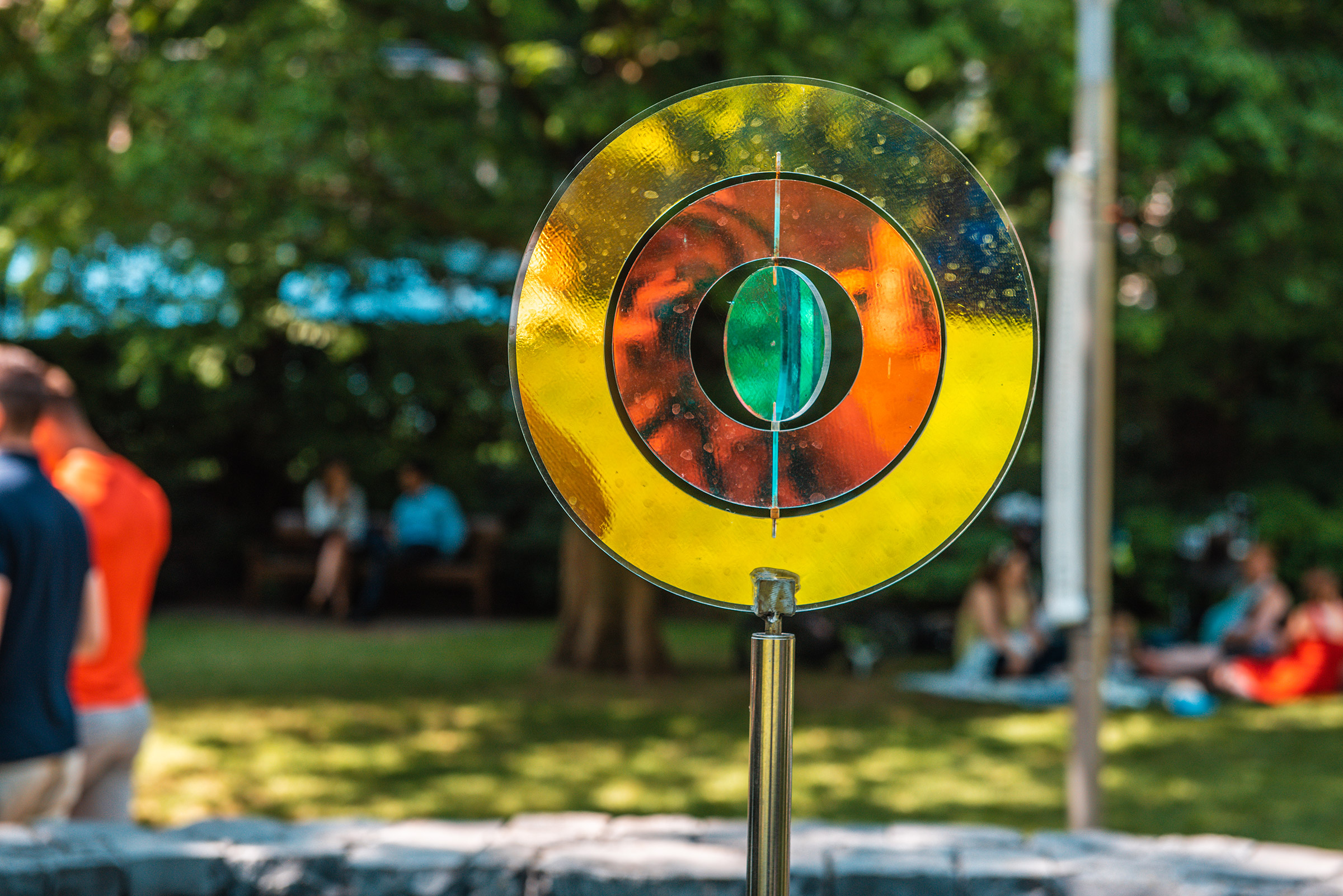 Round and Round Installation by Martin Richman